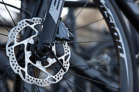 Disc brakes at use in the 115th Paris-Roubaix 2017 (1.UWT)<br /> <br /> One day race: Compi&egrave;gne &gt; Roubaix (257km)
