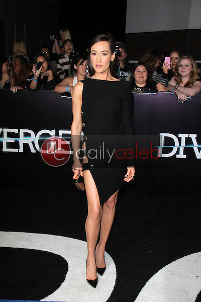 """Maggie Q<br /> at the """"Divergent"""" Los Angeles Premiere, Regency Bruin Theatre, Westwood, CA 03-18-14<br /> Dave Edwards/DailyCeleb.com 818-249-4998"""