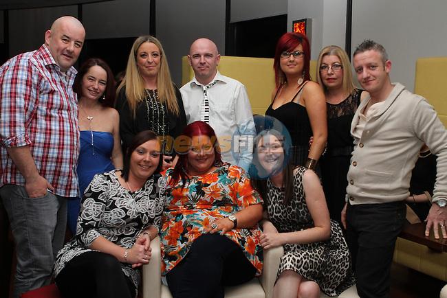 Sandra Farrell 35th Birthday Party in Bru...(Photo credit should read Jenny Matthews/NEWSFILE)...