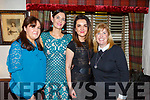 Mags O'Keeffe, Madeline McCarthy, Monica Wojtalik and Sharon Conway enjoying the night out in Cassidys on Friday night.