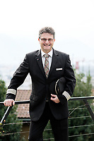 Roberto Battagloni, Swiss Airlines Captain, Bellinzona