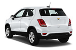 Car pictures of rear three quarter view of 2017 Chevrolet Trax LS 5 Door SUV Angular Rear