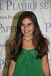 Carly Rose Sonenclar stas in Little House on the Prairie - The Musical at the Paper Mill Playhouse's 71st Season as it opens with East Coast Premiere on September 20, 2009 in Millburn, New Jersey. (Photo by Sue Coflin/Max Photos)