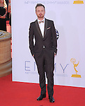 Aaron Paul at The 64th Anual Primetime Emmy Awards held at Nokia Theatre L.A. Live in Los Angeles, California on September  23,2012                                                                   Copyright 2012 Hollywood Press Agency