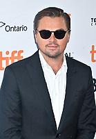 "08 September 2019 - Toronto, Ontario Canada - Leonardo DiCaprio. 2019 Toronto International Film Festival - ""And We Go Green"" Premiere held at Ryerson Theatre. <br /> CAP/ADM/BPC<br /> ©BPC/ADM/Capital Pictures"