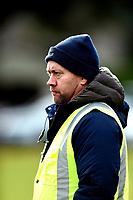 Former Otago coach Cory Brown watches the Otago 1st XV secondary schools rugby union match between John McGlashan College and Otago Boys' High School at John McGlashan College in Dunedin, New Zealand on Saturday, 4 July 2020. Photo: Joe Allison / lintottphoto.co.nz