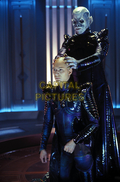 TOM HARDY & RON PERLMAN .in Star Trek Nemesis .Ref: FB.Supplied by Capital Pictures.*Film Still - Editorial Use Only*.www.capitalpictures.com.sales@capitalpictures.com.