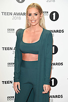 LONDON, UK. October 21, 2018: Laura Anderson at tthe BBC Radio 1 Teen Awards 2018 at Wembley Stadium, London.<br /> Picture: Steve Vas/Featureflash