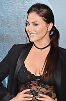 HOLLYWOOD, CA - AUGUST 06: Cassie Scerbo attends the premiere of Warner Bros. Pictures and Gravity Pictures' Premiere of 'The Meg' at the TLC Chinese Theatre on August 06, 2018 in Hollywood, California.<br /> CAP/ROT/TM<br /> &copy;TM/ROT/Capital Pictures