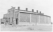 Rear view of D&amp;RGW Alamosa five-stall standard gauge roundhouse.<br /> D&amp;RGW  Alamosa, CO
