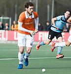 WASSENAAR - Hoofdklasse hockey heren, HGC-Bloemendaal (0-5).  Sander 't Hart (Bldaal)   COPYRIGHT KOEN SUYK