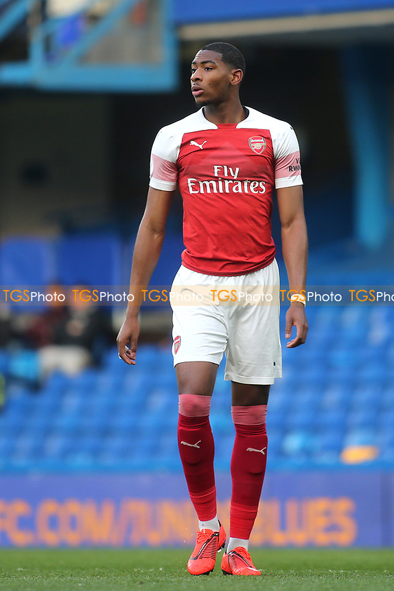 Zech Medley of Arsenal during Chelsea Under-23 vs Arsenal Under-23, Premier League 2 Football at Stamford Bridge on 15th April 2019