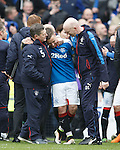 Barrie McKay with Jimmy Bell and Davie Lavery