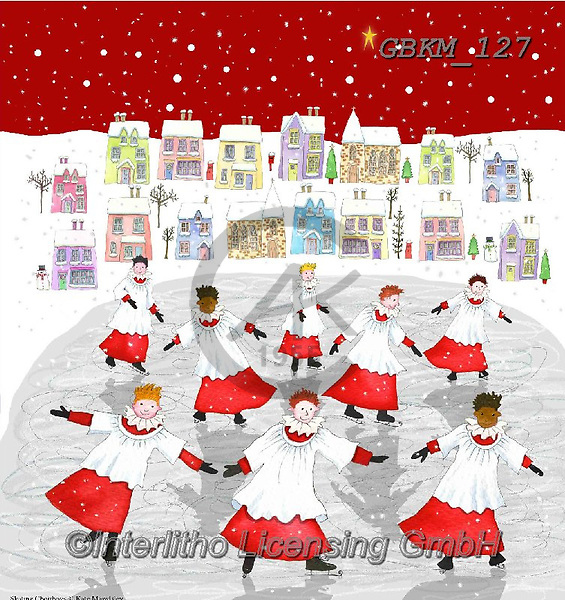 Kate, CHRISTMAS LANDSCAPES, WEIHNACHTEN WINTERLANDSCHAFTEN, NAVIDAD PAISAJES DE INVIERNO, paintings+++++Christmas page 102 1,GBKM127,#XL#