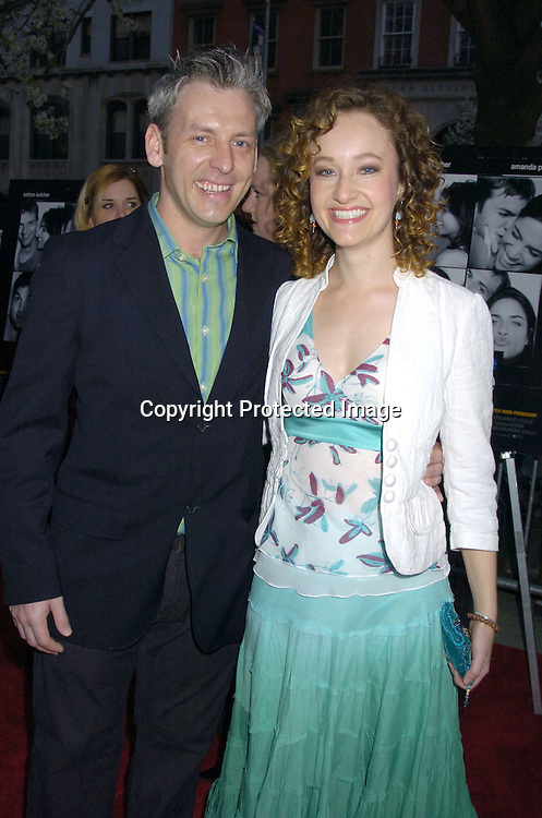 """Melissa Van der Schyff and boyfriend Declan Ryan ..at a Special Screening of """" A Lot Like Love"""" on april 18, 2005 at the Clearview Chelsea West Cinema. ..Photo by Robin Platzer, Twin Images"""