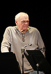 Brian Dennehy during the Curtain Call for the 10th Anniversary Production of 'The Exonerated' at the Culture Project in New York City on 9/19/2012.