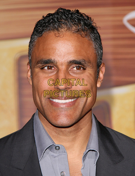 "RICK FOX.Disney Premiere of ""Tangled"" held at El Capitan Theatre in Hollywood, California, USA..November 14th, 2010.headshot portrait grey gray blue.CAP/RKE/DVS.©DVS/RockinExposures/Capital Pictures."