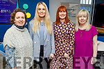 Maura Sheehy, Nicole McEllistrim, Caroline McEnery and Fiona Stack attending the BoI Friday Breakfast Club International Women's Day at the Bank Of Ireland in Tralee on Friday.