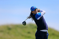Clara Manzalini (ITA) during the second round of the Irish Womans Open Strokeplay Championship, Co Louth Golf Club, Baltray, Drogheda, Co Louth, Ireland. 12/05/2018.<br /> Picture: Golffile | Fran Caffrey<br /> <br /> <br /> All photo usage must carry mandatory copyright credit (&copy; Golffile | Fran Caffrey)
