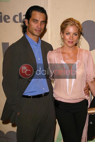Johnathon Schaech and Christina Applegate
