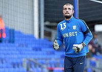 Preston North End's Michael Crowe during the pre-match warm-up <br /> <br /> Photographer David Shipman/CameraSport<br /> <br /> The EFL Sky Bet Championship - Ipswich Town v Preston North End - Saturday 3rd November 2018 - Portman Road - Ipswich<br /> <br /> World Copyright &copy; 2018 CameraSport. All rights reserved. 43 Linden Ave. Countesthorpe. Leicester. England. LE8 5PG - Tel: +44 (0) 116 277 4147 - admin@camerasport.com - www.camerasport.com