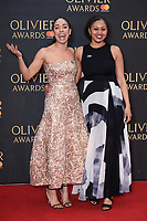 Pearl Mackie arriving for the Olivier Awards 2018 at the Royal Albert Hall, London, UK. <br /> 08 April  2018<br /> Picture: Steve Vas/Featureflash/SilverHub 0208 004 5359 sales@silverhubmedia.com