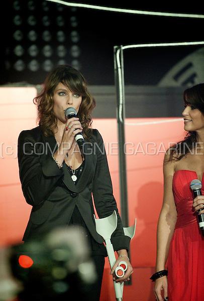 Katja Retsin and Evy Gruyaert at the 10 Jaar De Rode Loper party in the Noxx dancing, Antwerp (Belgium, 30/10/2010)