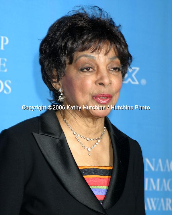 Ruby Dee.37th NAACP Image Awards.Shrine Auditorium.Los Angeles, CA.February 25, 2006.©2006 Kathy Hutchins / Hutchins Photo....