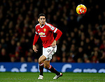 Chris Smalling of Manchester United - English Premier League - Manchester Utd vs Chelsea - Old Trafford Stadium - Manchester - England - 28th December 2015 - Picture Simon Bellis/Sportimage