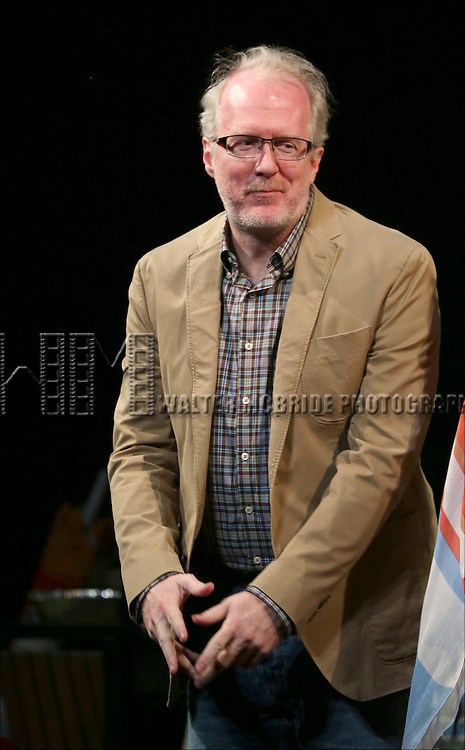 Tracy Letts during the Broadway Opening Night Performance Curtain Call for 'The Realistic Joneses'  at the Lyceum Theatre on April 6, 2014 in New York City.