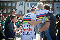 2 world champions<br /> <br /> La Flèche Wallonne 2014