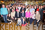 Margaret Predergast, Boolteens, pictured with her family as she celebrated her 70th birthday in Murphys Bar, Boolteens on Sunday night.