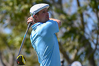 Bryson DeChambeau (USA) watches his tee shot on 3 during round 1 of the Arnold Palmer Invitational at Bay Hill Golf Club, Bay Hill, Florida. 3/7/2019.<br /> Picture: Golffile | Ken Murray<br /> <br /> <br /> All photo usage must carry mandatory copyright credit (&copy; Golffile | Ken Murray)