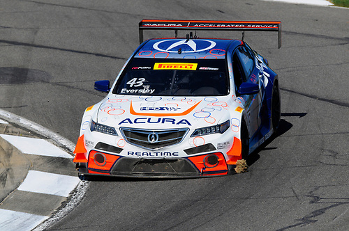 21-24 April, 2016, Birmingham, Alabama, USA<br /> #43 Ryan Eversley, Acura TLX-GT<br /> © 2016, Jay Bonvouloir, ESCP