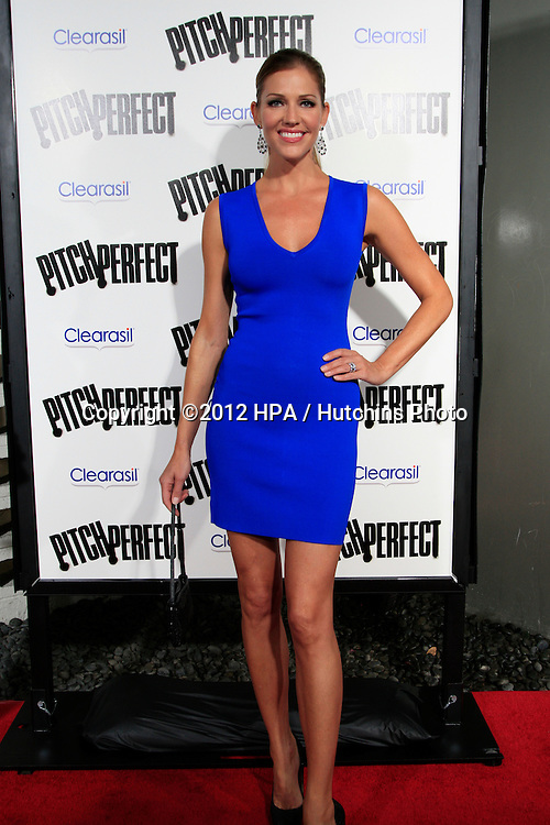 "LOS ANGELES - SEP 24:  Tricia Helfer arrives at the ""Pitch Perfect'"" Premiere at ArcLight Cinemas on September 24, 2012 in Los Angeles, CA"