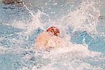 26 MAR 2011:  Eric Ress of Indiana University competes in the 200 Yard Backstroke during the Division I Men's Swimming and Diving Championship held at the University of Minnesota Aquatics Center in Minneapolis, MN.  Ress swam a 1:38.96 to placed second in the event.  Carlos Gonzalez/ NCAA Photos