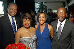 From left: Francis and Elise Cook withh Adrianne and Tony Rich at the Houston Area's Urban League Equal Opportunity Day Gala at the Hilton Americas Houston Saturday night June 20, 2009.(Dave Rossman/For the Chronicle)