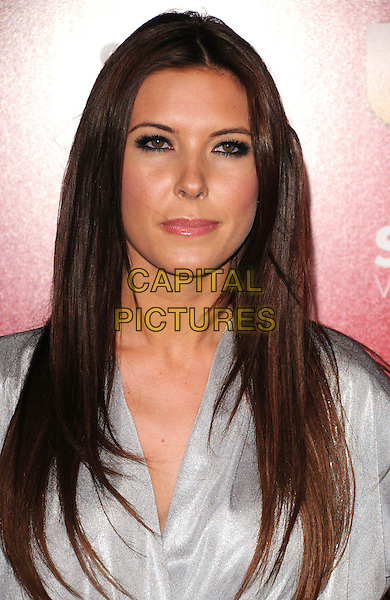 AUDRINA PATRIDGE.US Weekly's Hot Hollywood Party 2009 held at Voyeur, West Hollywood, California, USA. .November 18th, 2009.headshot portrait silver grey gray eyeliner funny face  .CAP/RKE/DVS.©DVS/RockinExposures/Capital Pictures.