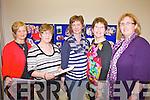MEETING: At the women's conference at the Listowel Family Resource Centre on Thursday were l-r: Anne Wrenn (Killarney), Josephine McCarthy (Kilcummin), Joan O'Connell (Ballydesmond), Kathleen O'Sullivan (Kilcummin), Trish Horan (Ballymac).