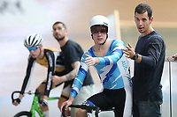 Myron Simpson at the Age Group Track National Championships, Avantidrome, Home of Cycling, Cambridge, New Zealand, Friday, March 17, 2017. Mandatory Credit: © Dianne Manson/CyclingNZ  **NO ARCHIVING**