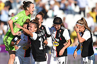 esultanza fine gara Juventus<br /> Cesena 27/10/2019 Stadio Manuzzi <br /> Women's Football Italian Supercup 2019 <br /> Juventus - Fiorentina <br /> Photo Massimiliano Vitez / Image Sport / Insidefoto