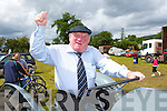 Jackie Healy Rae at the Kilgarvan agricultural show on Sunday.