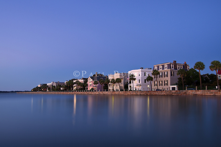 The Charleston Battery at dawn by Photo Charlotte LLC. In this photo of Battery Row in Charleston SC, are some of the historic mansions on East Battery St. that Charleston is famous for.  The architectural history in Charleston SC is incredible. Every time we visit, we get the most amazing photos of Charleston . I think you could literally visit Charleston SC and never see and do all that there is to do in Charleston in one visit.