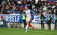 Harrison, N.J. - Sunday March 04, 2018: Kelley O'Hara during a 2018 SheBelieves Cup match between the women's national teams of the United States (USA) and France (FRA) at Red Bull Arena.