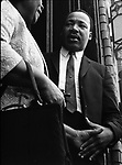 Dr. Martin Luther King Jr greeting parishioners after speaking at Dexter Ave Baptist church, in Montgomery Ala. This and over 10,000 other images are part of the Jim Peppler Collection at The Alabama Department of Archives and History:  http://digital.archives.alabama.gov/cdm4/peppler.php