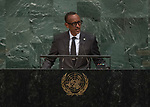 72 General Debate – 20 September <br /> <br /> <br /> by His Excellency Paul Kagame, President of the Republic of Rwanda