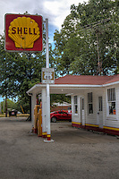 The Soulsby Service Station on Route 66 in Mt. Olive Illinois was built in 1926 and remained in operation by the Soulsby family until 1993. The new station owner is working with the Soulsby Station Society and the Illinois Route 66 Association to maintain this classic filling station as a historical and educational attraction.