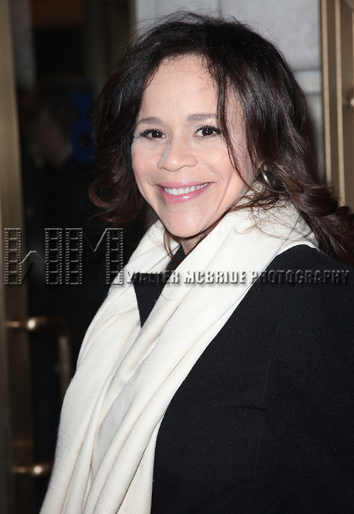 "Rosie Perez pictured at the Opening Night Arrivals of ""Death Of A Salesman"" at The Barrymore Theatre New York City March 15, 2012 © Walter McBride / WM Photography"