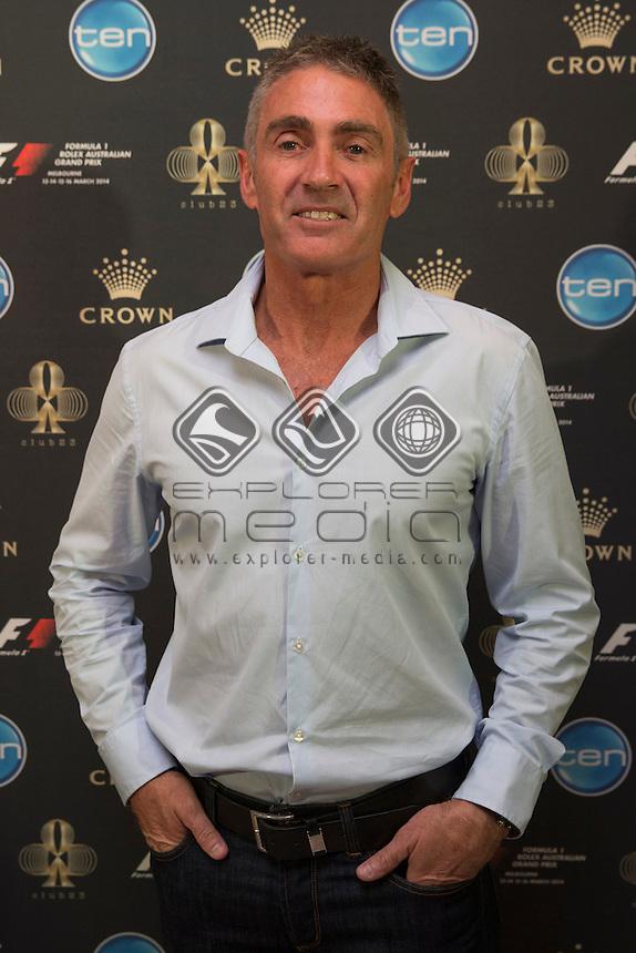 World Champion Mick Doohan during the Melbourne Grand Prix, Melbourne Grand Prix  2014 Australian V8 Supercars  at the Albert Park, Melbourne, Victoria, March 12, 2014.<br /> &copy; Sport the library / Mark Horsburgh