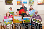 Ballybunion Active Retirement Painters Group: Pictured the Ballybunion active retirement painters group exhibition at the Convent Chapel on Saturday evening last were in front Delia O'Sullivan, Bridie Mulvihill, Betty Lynch & Maureen Lawlor. Back : Geraldine Scanlan, Bill Young & Estela Perez.